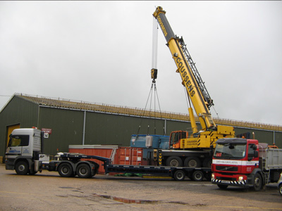 Plant hire in Rye